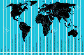 World Time Zones Map by 1 343 Time Zone Map Stock Illustrations Cliparts And Royalty Free