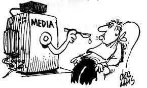 عکس تاثیر رسانه ها: رسانه ها به ما خوراک فکری می دهند