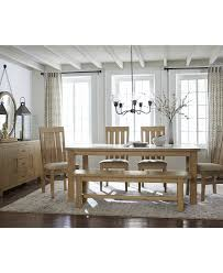 Contemporary Dining Room Table by Dining Room Macys Dining Table Dining Set With Benches
