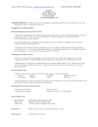 Resume Medical Surgical Staff Nurse   Resume   sample resume registered nurse soymujer co