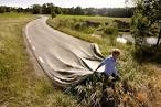 Go Your Own Road by Erik Johansson - Optical Illusion Image Gallery # eyetricks.com
