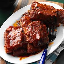 slow cooker bbq ribs taste of home