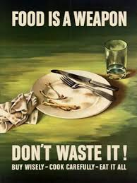 Do not waste food!!