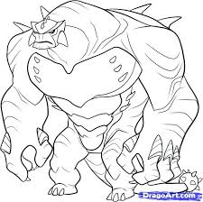 28 ben 10 alien coloring pages ben 10 alien force coloring