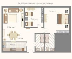 Single Bedroom Apartment Floor Plans by Best Modern One Bedroom Apartment Designs Example I 7342