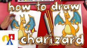 draw charizard