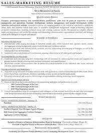 Resume Sample For Long Term Employment by Resume Samples For Sales And Marketing Jobs