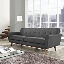 Living Room Settee Furniture by Furniture Sophisticated Velvet Tufted Sofa For Living Room