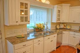 White Country Kitchen Cabinets Country Kitchen Backsplash Ideas Homesfeed