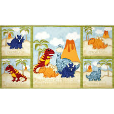 have you seen my dinosaur quilt 24
