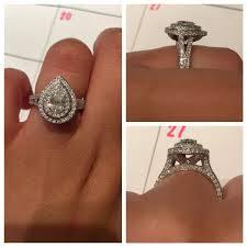 neil lane engagement rings neil lane pear double halo engagement ring i think i wanna
