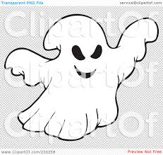 halloween ghost clipart black and white ghost clipart no background collection