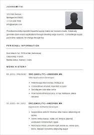 Scholarship Resume Examples by Basic Resumes Examples Basic Resume Template For App Developer