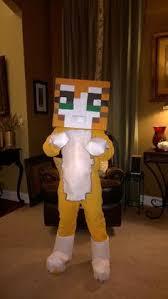 Halloween Minecraft Costume Telescoping Minecraft Creeper Costume Creeper Costume Steve