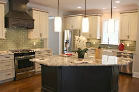 kitchen astonishing l shape kitchen decoration using granite top