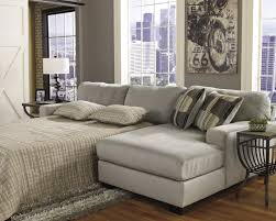 Comfortable Home Decor Decorating Comfortable Sectional Sleeper Sofa In Grey With