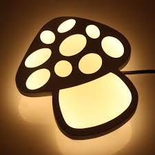 Led Lights For Bedroom Online Get Cheap Mushroom Wall Led Light Aliexpress Com Alibaba