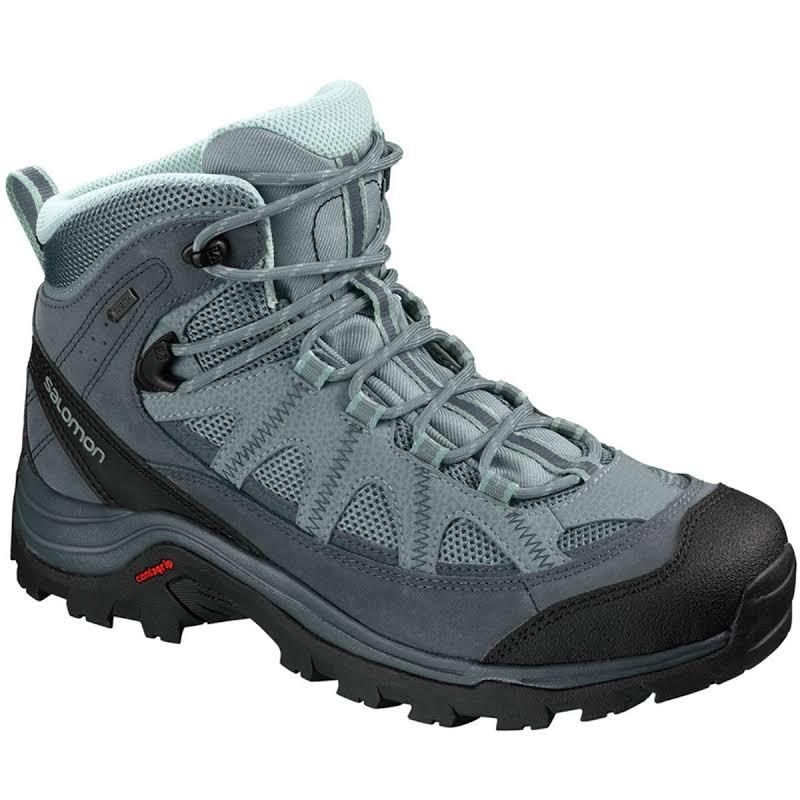 Salomon Authentic Ltr Gtx Waterproof Mid Hiking Boots Black