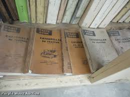 caterpillar service manuals item ax9271 sold march 14 j