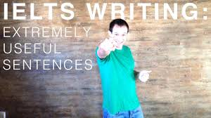 IELTS Writing Task    Extremely Useful Sentences   YouTube