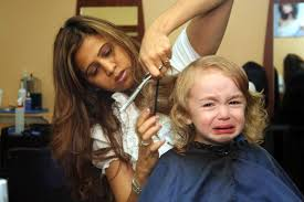 what to do if your kid hates getting haircuts popsugar moms
