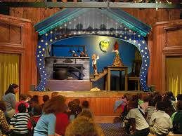 Cottage Grove Theater by Marionette Theater W79 At The Swedish Cottage Central Park Nyc