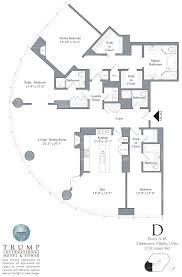 Condominium Floor Plans Trump Tower Chicago 401 N Wabash Floor Plans Views