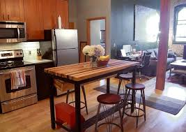 easy steps of how to build diy butcher block table