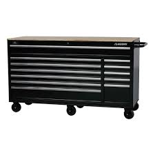 black friday home depot tool box husky 66 in w 24 in d 12 drawer heavy duty mobile workbench