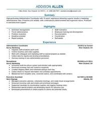 Sample Resume For Admin Assistant by Administrative Assistant Resume Examples Administration Amp Office