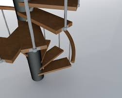 spiral stairs free 3d model 3ds c4d home design ideas on home