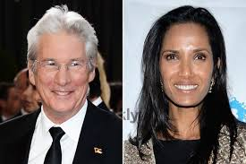 Is Richard Gere      dating Padma Lakshmi       Star sparks romance     They are reportedly taking it slowly