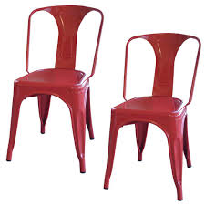 Metal Dining Room Chair Red Dining Chairs U0026 Benches Kitchen U0026 Dining Room Furniture