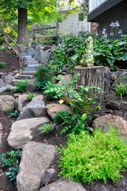 Small Rock Garden Pictures by 362 Best Dry Creek Beds And Rock Gardens Images On Pinterest