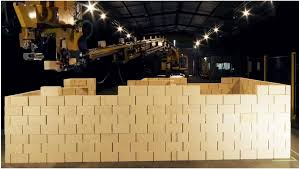 Robotic Wall End Of Brickies Robotic Hadrian X Can Build A House In Just Two
