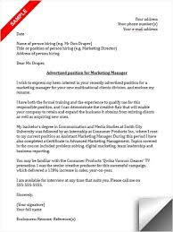Operations Manager Cover Letter  sales cover letter examples  spa