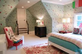 Turquoise Butterfly Wallpaper Design Ideas - Girls bedroom wallpaper ideas