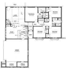 One Level Home Plans One Story Country House Plans With Front Porch Home Act