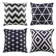 amazon com hosl p61 4 pack sofa home decor design throw pillow