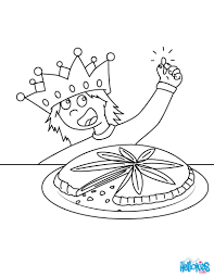 king u0027s cake coloring pages hellokids com