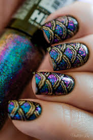 best 25 fish scale nails ideas on pinterest easy nails