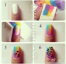 nail art equipment tool finger 8 pcs set diy multi color creative