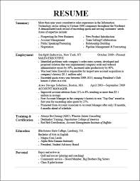 Recent College Graduate Resume Template Sales Resume Headlines