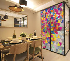 stained glass door film frosted stained glass window film bathroom balcony sliding door