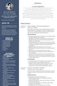 Senior Manager Resume Samples   VisualCV Resume Samples Database VisualCV Senior Manager Business Development Resume Samples