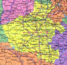 Map Of China Provinces Henan Map Map Of Henan China China Travel Map