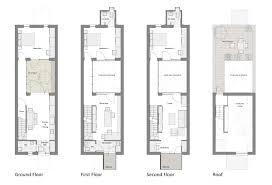 new row home floor plan new home plans design