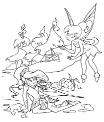 tinker bell coloring book coloring kids pinterest tinkerbell