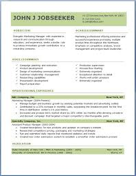 Online Marketing Manager Resume by How To Write A Job Resume Examples 12 Best Custom Paper Writing