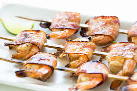 thanksgiving turkey wrapped in bacon bacon wrapped shrimp recipe simplyrecipes com